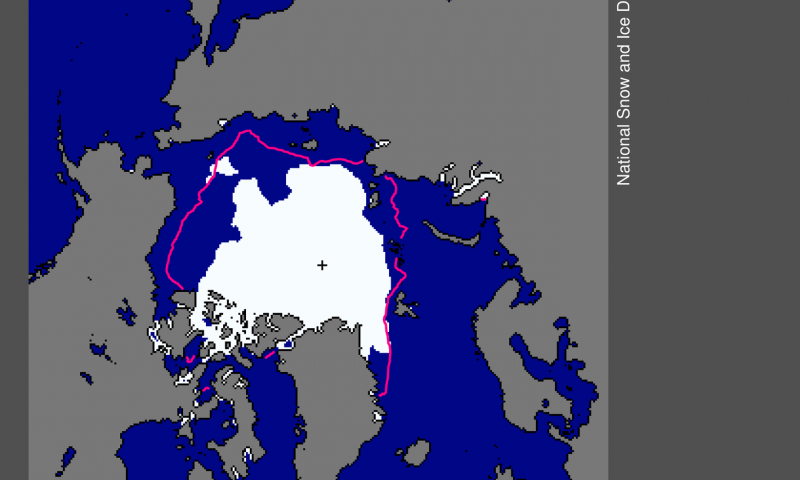 Arctic sea ice settles at 2nd lowest minimum and 5th lowest September