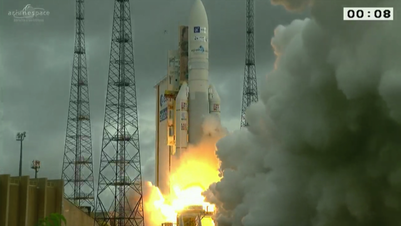 Ariane 5's seventh launch this year
