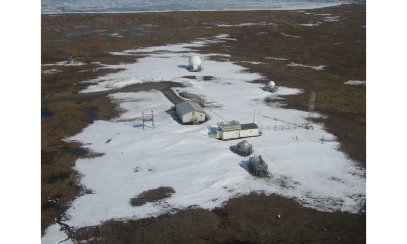 As Alaska warms, methane emissions appear stable, study finds
