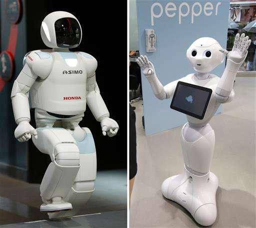 Asimo meets Pepper: Honda and Softbank partnering in robots