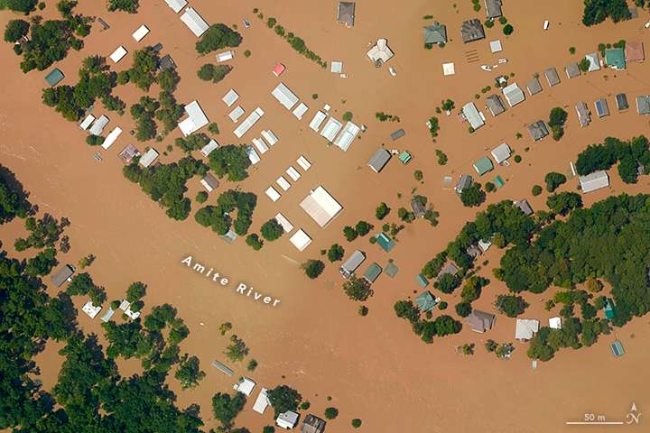 As Louisiana floods, measuring the climate change effect