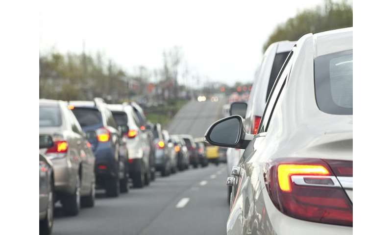 As traffic piles up, so does air pollution