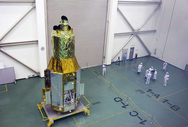 ASTRO-H satellite ready for launch