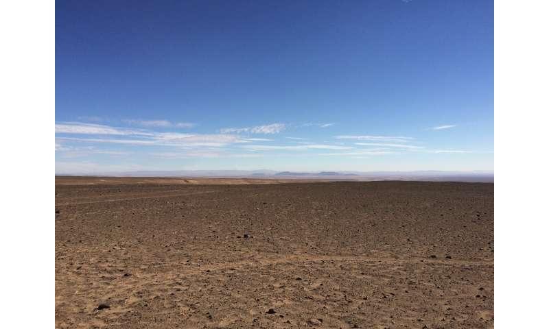 Atacama Desert may have harbored lakes, wetlands