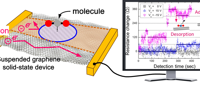 Atomically thin sensor detects harmful air pollution in the home