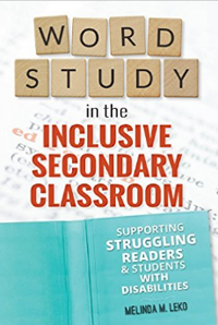 Author shows how teachers can use 'word study' to improve student reading