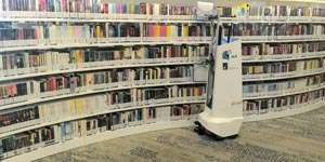 Automated robot that scans library shelves using laser mapping and radio tags can ensure no book is misplaced again