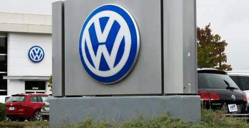 A Volkswagen dealership in Woodbridge, Virginia