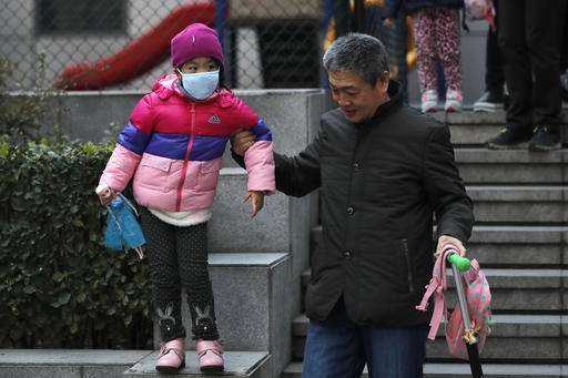 Bad smog ahead: Beijing tells students to stay indoors