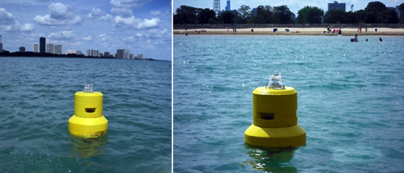 Beach buoys deployed to detect beach contamination