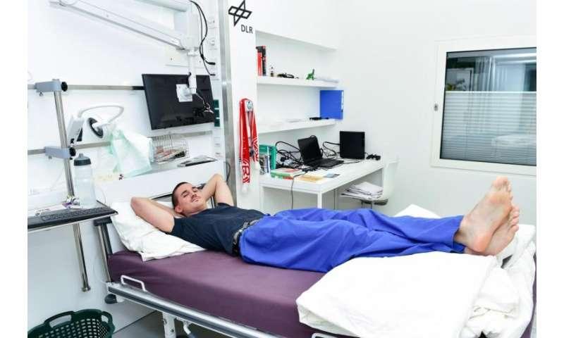 Bedrest studies inform astronaut health issues