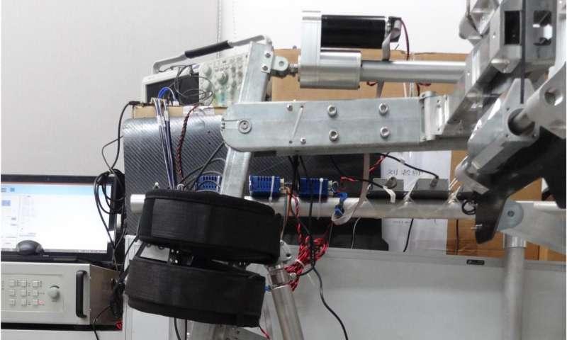 Bio-inspired lower-limb 'wearing robotic exoskeleton' for human gait rehab