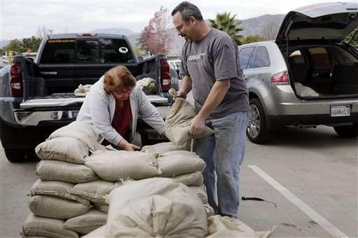 California braces for series of El Nino storms