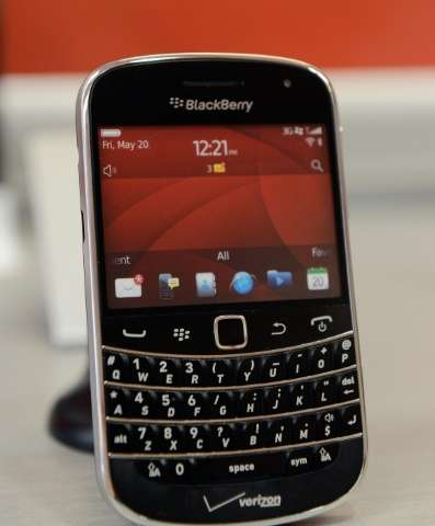 Canadian-based BlackBerry announced Wednesday it would halt in-house production of smartphones, marking the end of an era for th