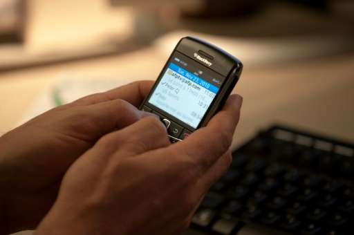 Canadian law enforcement intercepted and decrypted about one million BlackBerry messages, Vice reported