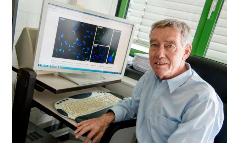 Cannabinoid receptor activates spermatozoa