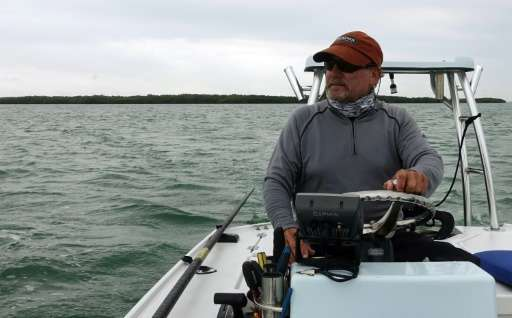 Captain John Guastavino says years ago, tourists could catch dozens of redfish, snapper and snook on a typical fishing trip in t