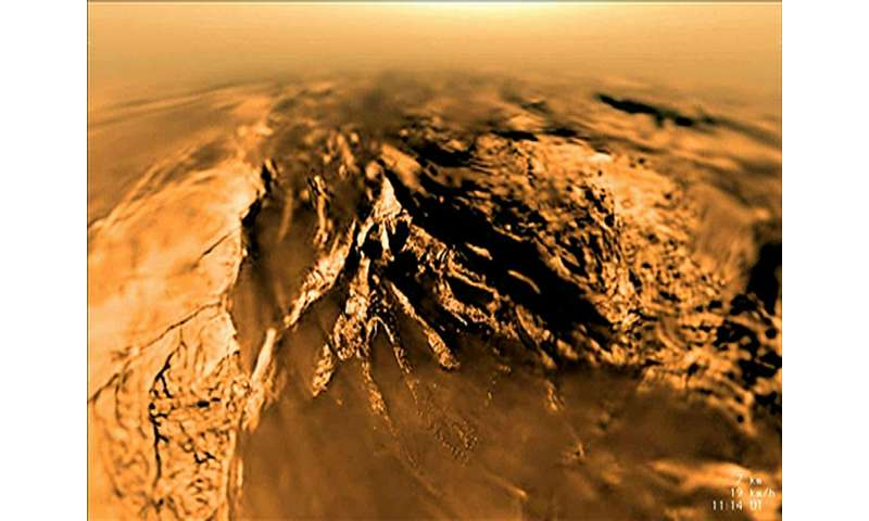 Chemical trail on Titan may be key to prebiotic conditions