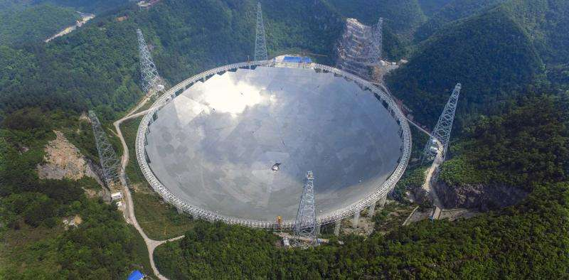 China completes world's largest radio telescope