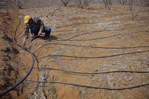 China report sounds alarm on groundwater pollution