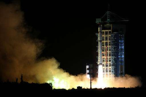 China's launch of quantum satellite major step in space race