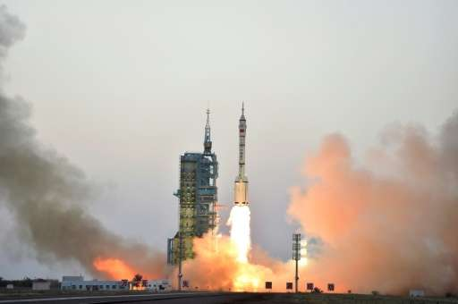 "China state media says the launch of a CO2 monitoring satellite will give the country a ""louder voice"" in future carbo"
