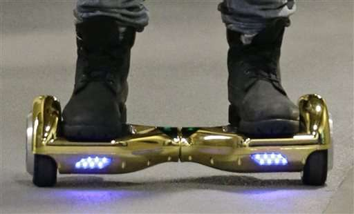 Colleges tell students to leave their hoverboards at home