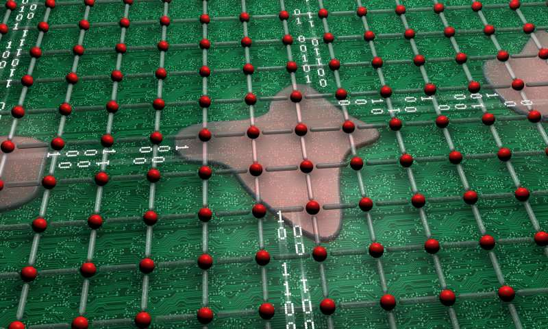 Complex materials can self-organize into circuits, may form basis for multifunction chips