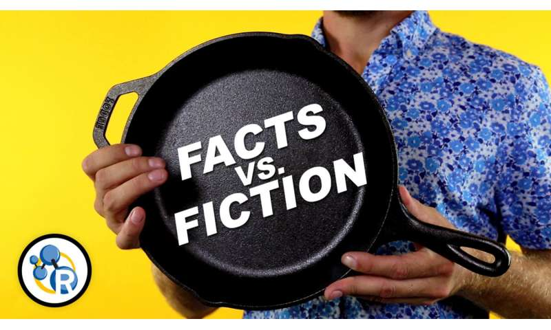 Cooking with cast iron: Fact versus fiction (video)