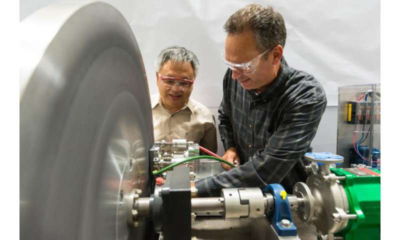 """Cooling technique helps researchers """"target"""" a major component for a new collider"""