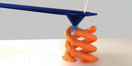 Copper deposition to fabricate tiny 3-D objects