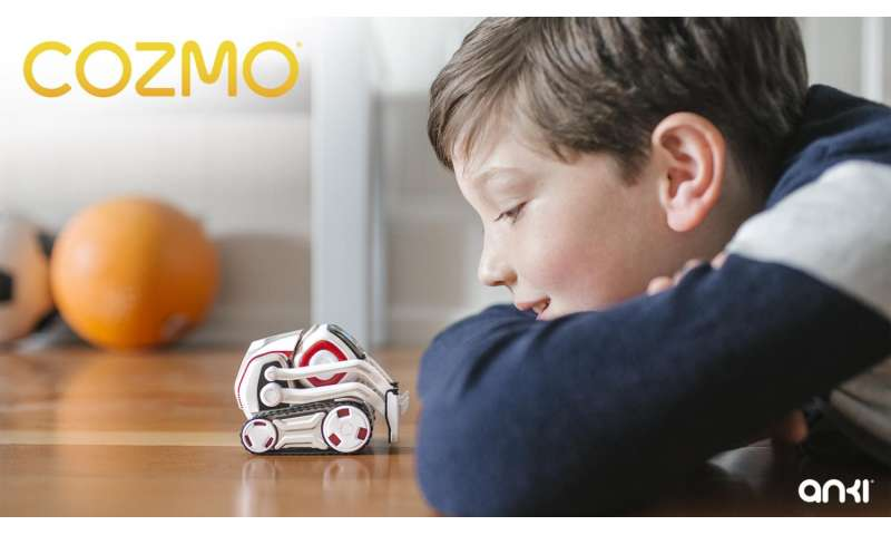 Cozmo is little in size, bigger in brains and social skills