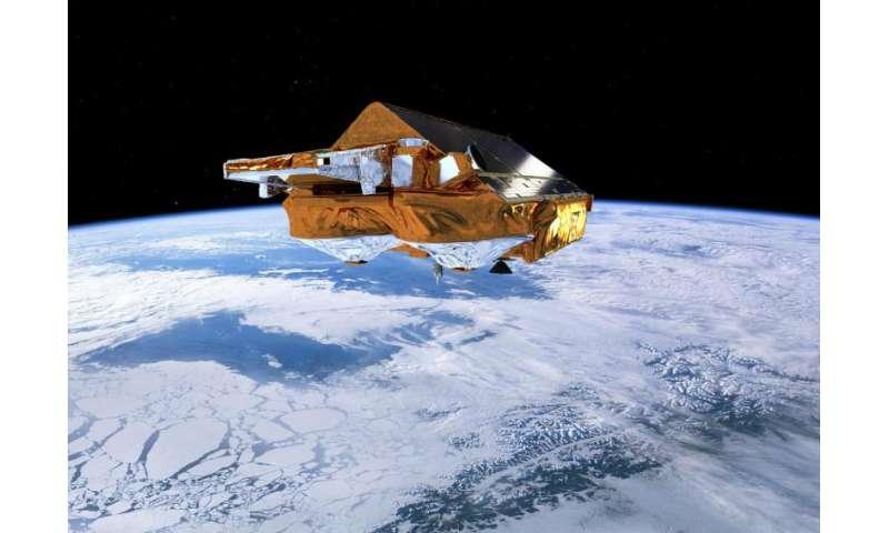 CryoSat reveals recent Greenland ice loss
