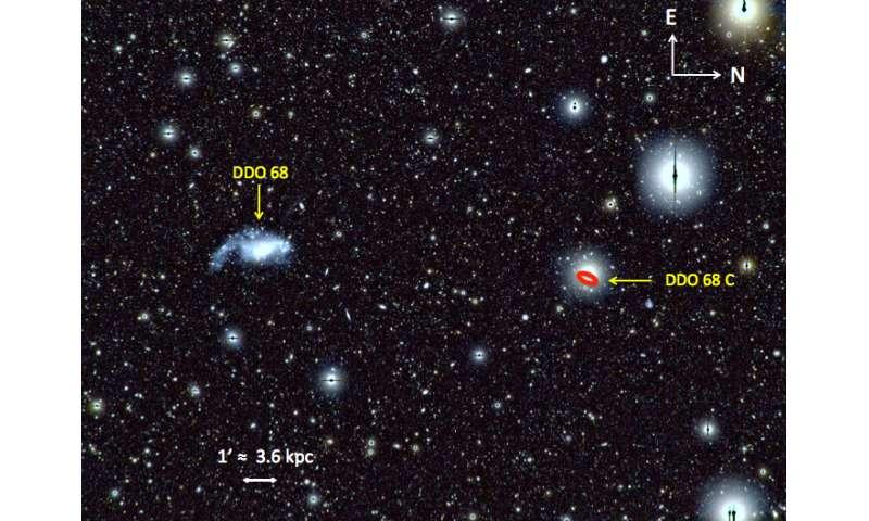 DDO 68: Among Galaxies, a Flea, but a Voracious One