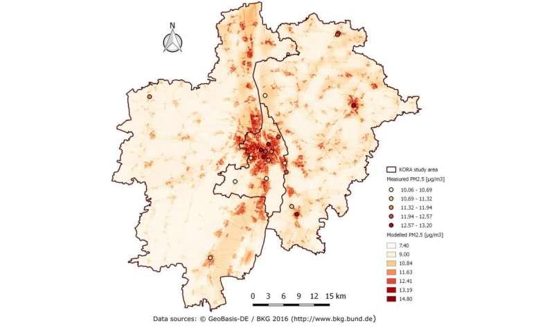 Diabetes as a risk factor of air pollution