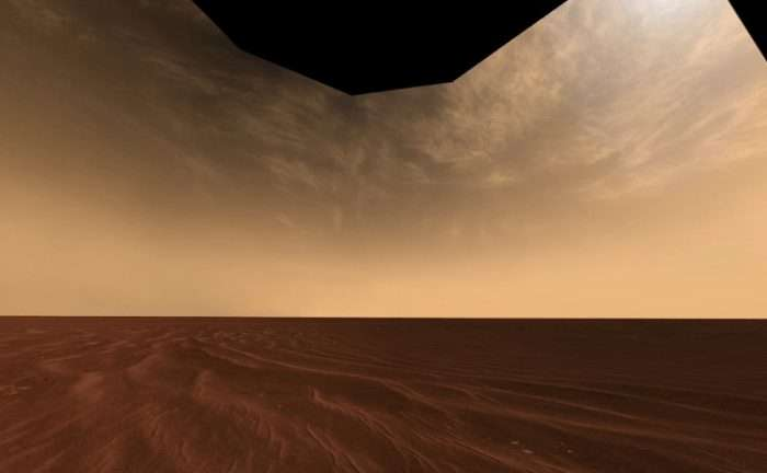 Did cirrus clouds help keep early Mars warm and wet?