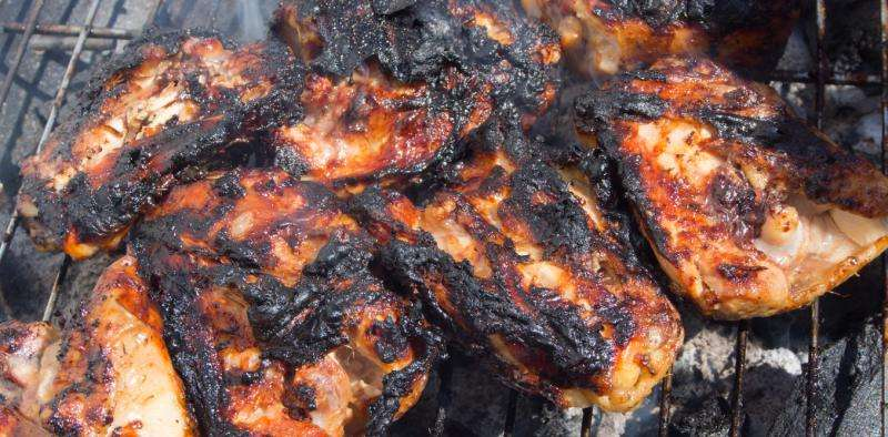 Does burned food give you cancer?
