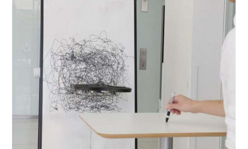 Drawing on the fly: MIT team's drone is agent of expression