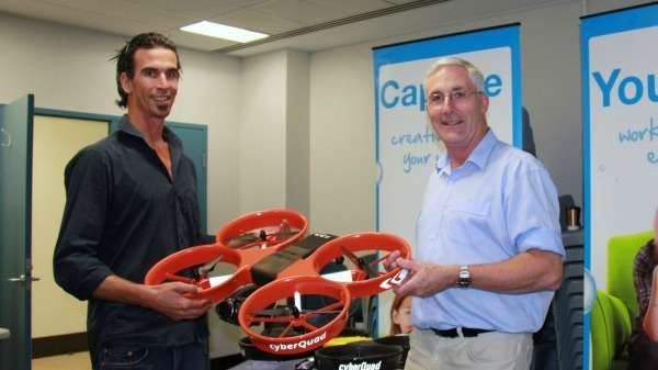Drones create 3D maps to demonstrate carbon storage