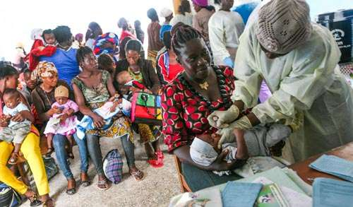 Early vaccination might be crucial for growth and health of African children