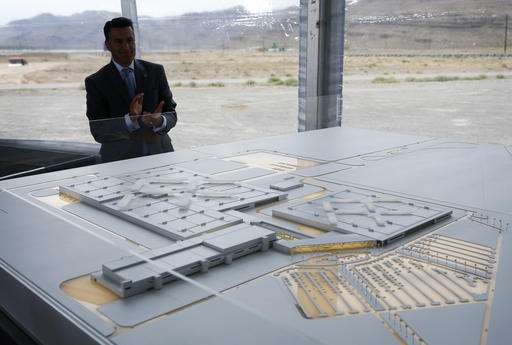 Electric car firm Faraday aims to start Nevada plant by 2018