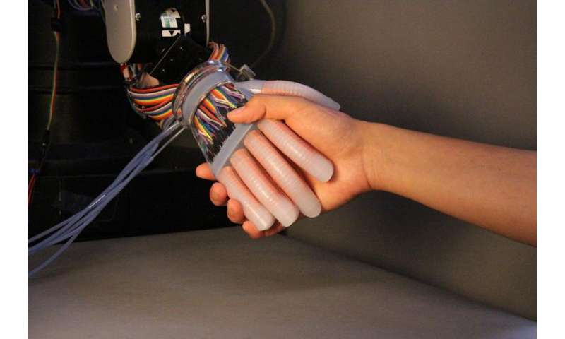 Engineers get under robot's skin to heighten senses