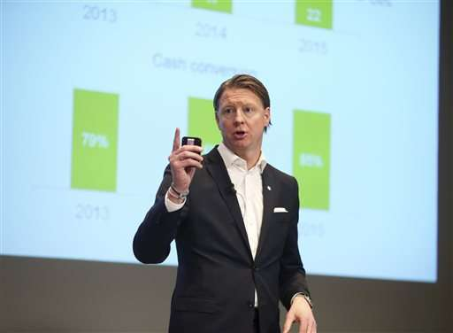 Ericsson Q4 profits, sales surge on growth in China
