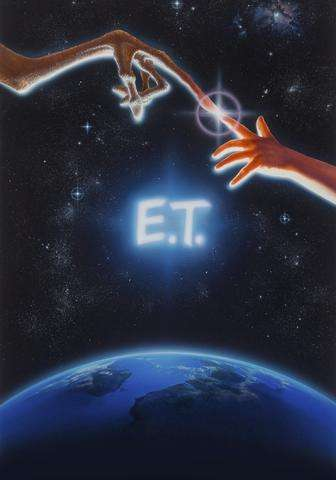 'E.T.' movie poster sells for almost $400,000