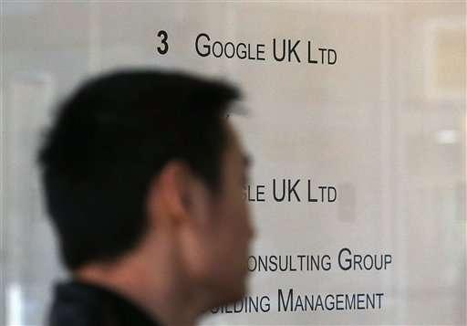 EU considering probe of Google tax deal in UK
