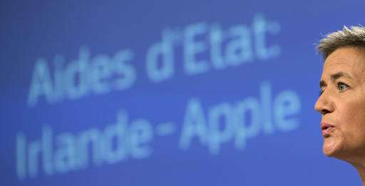EU says Apple must pay up to 13B euros in back taxes
