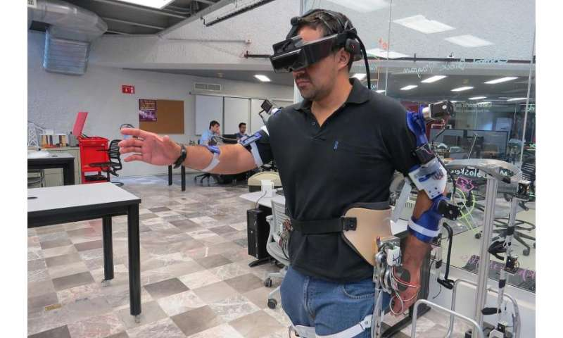 Exoskeleton for rehabilitation of specific body parts