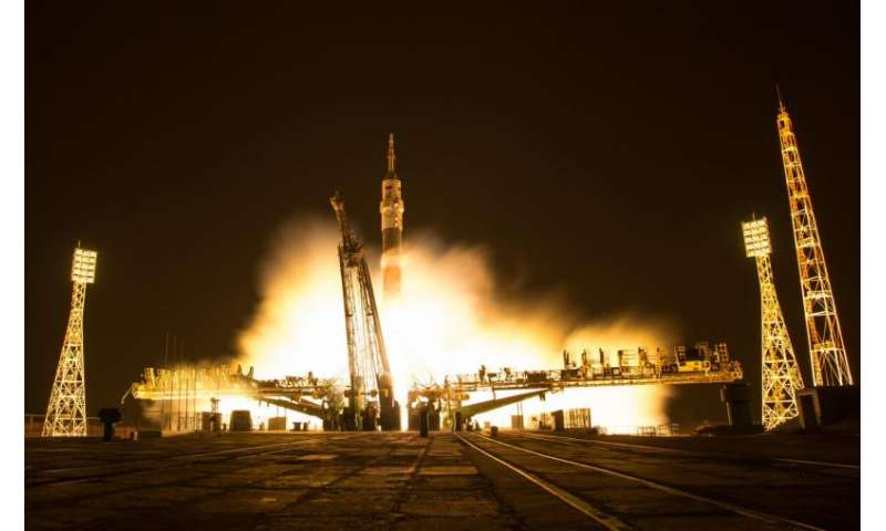 Expedition 50 Crew Launches to the International Space Station