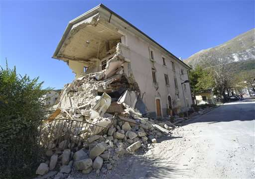 Explaining new jolts rattling earthquake-ravaged Italy