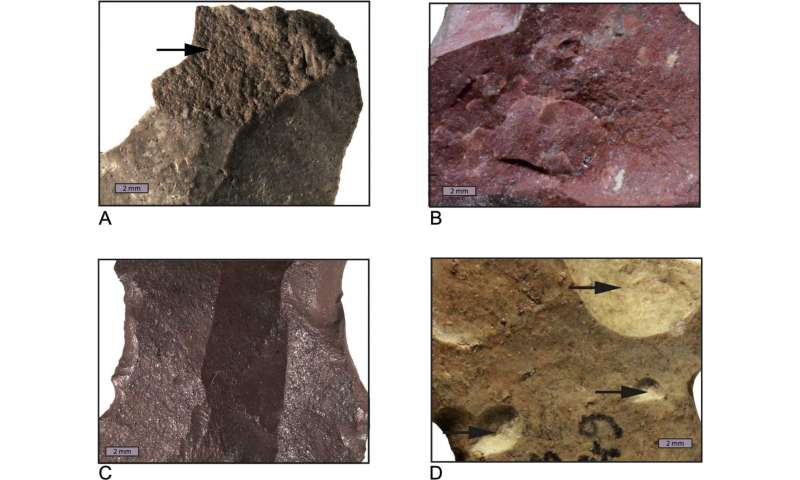 Extensive heat treatment in Middle Stone Age silcrete tool production in South Africa